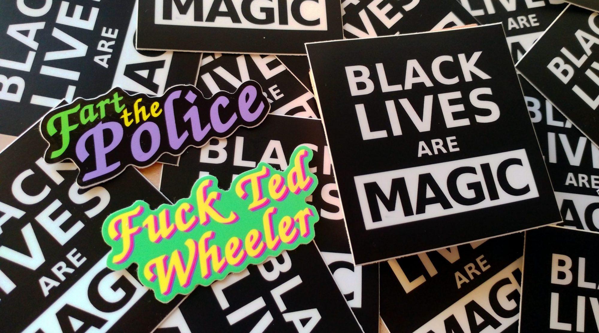 Sticker Bloc